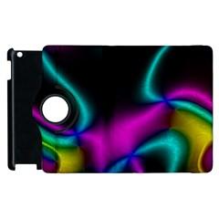 Vibrant Fantasy 8 Apple Ipad 3/4 Flip 360 Case by MoreColorsinLife