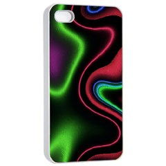 Vibrant Fantasy 2 Apple Iphone 4/4s Seamless Case (white) by MoreColorsinLife