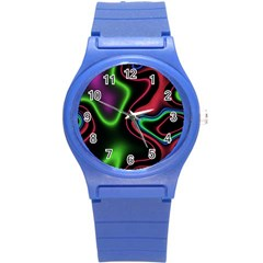Vibrant Fantasy 2 Round Plastic Sport Watch (s) by MoreColorsinLife