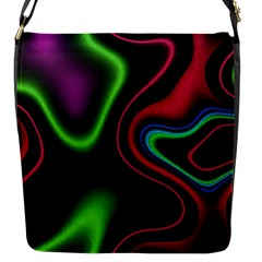 Vibrant Fantasy 2 Flap Messenger Bag (s) by MoreColorsinLife