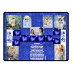 Blanket Blue angel - Fleece Blanket (Small)