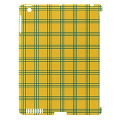 Green Stripes Apple Ipad 3/4 Hardshell Case (compatible With Smart Cover) by berwies
