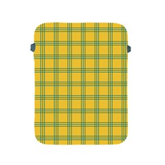 Green Stripes Apple Ipad 2/3/4 Protective Soft Cases by berwies