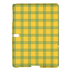 Green Stripes Samsung Galaxy Tab S (10 5 ) Hardshell Case  by berwies