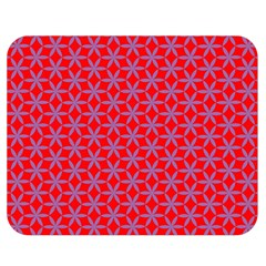 Flower Of Life Pattern Red Purle Double Sided Flano Blanket (medium)  by Cveti