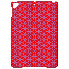 Flower Of Life Pattern Red Purle Apple Ipad Pro 9 7   Hardshell Case