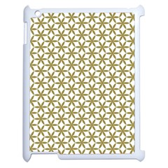 Flower Of Life Pattern Cold White Apple Ipad 2 Case (white) by Cveti