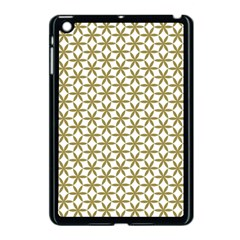 Flower Of Life Pattern Cold White Apple Ipad Mini Case (black) by Cveti