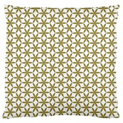 Flower Of Life Pattern Cold White Standard Flano Cushion Case (one Side) by Cveti
