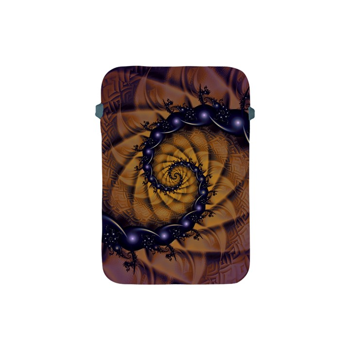 An Emperor Scorpion s 1001 Fractal Spiral Stingers Apple iPad Mini Protective Soft Cases