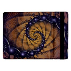 An Emperor Scorpion s 1001 Fractal Spiral Stingers Samsung Galaxy Tab Pro 12 2  Flip Case by jayaprime
