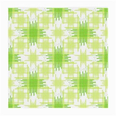 Intersecting Lines Pattern Medium Glasses Cloth by dflcprints
