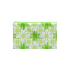 Intersecting Lines Pattern Cosmetic Bag (xs) by dflcprints