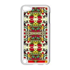 Chicken Monkeys Smile In The Floral Nature Looking Hot Apple Ipod Touch 5 Case (white) by pepitasart