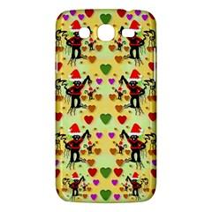 Santa With Friends And Season Love Samsung Galaxy Mega 5 8 I9152 Hardshell Case  by pepitasart