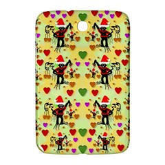 Santa With Friends And Season Love Samsung Galaxy Note 8 0 N5100 Hardshell Case  by pepitasart