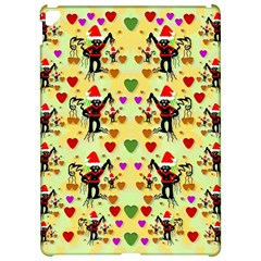 Santa With Friends And Season Love Apple Ipad Pro 12 9   Hardshell Case by pepitasart