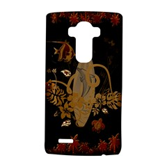 Hawaiian, Tropical Design With Surfboard Lg G4 Hardshell Case by FantasyWorld7