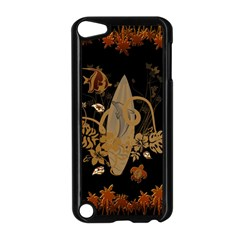 Hawaiian, Tropical Design With Surfboard Apple Ipod Touch 5 Case (black) by FantasyWorld7