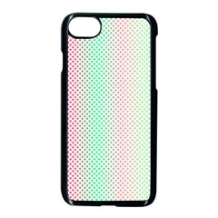 Pattern Apple Iphone 7 Seamless Case (black) by gasi