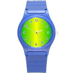 Pattern Round Plastic Sport Watch (s) by gasi