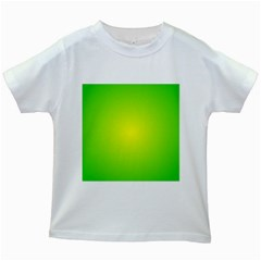 Pattern Kids White T Shirts by gasi