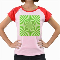 Pattern Women s Cap Sleeve T Shirt by gasi