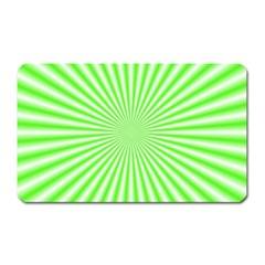 Pattern Magnet (rectangular) by gasi
