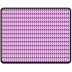 Pattern Double Sided Fleece Blanket (medium)  by gasi