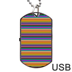 Pattern Dog Tag Usb Flash (two Sides) by gasi