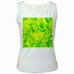 Pattern Women s White Tank Top by gasi