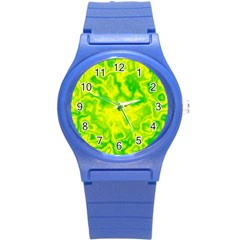 Pattern Round Plastic Sport Watch (s) by gasi