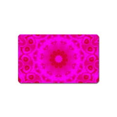 Pattern Magnet (name Card) by gasi