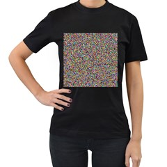 Pattern Women s T Shirt (black) by gasi