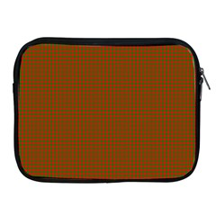 Classic Christmas Red And Green Houndstooth Check Pattern Apple Ipad 2/3/4 Zipper Cases by PodArtist