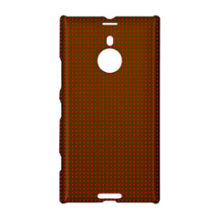 Classic Christmas Red And Green Houndstooth Check Pattern Nokia Lumia 1520 by PodArtist