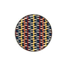 Native American Pattern 3 Hat Clip Ball Marker (4 Pack) by Cveti