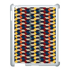 Native American Pattern 3 Apple Ipad 3/4 Case (white) by Cveti