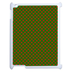 Grey And White Carbon Fiber Apple Ipad 2 Case (white) by PodArtist