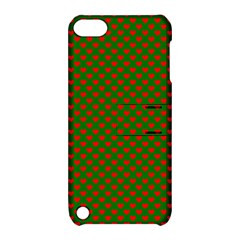 Grey And White Carbon Fiber Apple Ipod Touch 5 Hardshell Case With Stand by PodArtist