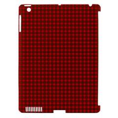 Royal Stuart Tartan Apple Ipad 3/4 Hardshell Case (compatible With Smart Cover) by PodArtist