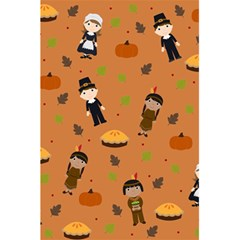 Pilgrims And Indians Pattern   Thanksgiving 5 5  X 8 5  Notebooks by Valentinaart