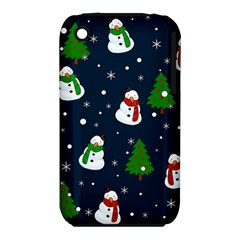 Snowman Pattern Iphone 3s/3gs by Valentinaart