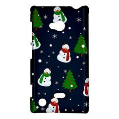 Snowman Pattern Nokia Lumia 720 by Valentinaart