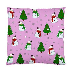 Snowman Pattern Standard Cushion Case (one Side) by Valentinaart