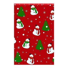 Snowman Pattern Shower Curtain 48  X 72  (small)  by Valentinaart