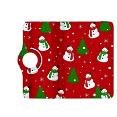 Snowman Pattern Kindle Fire Hdx 8 9  Flip 360 Case by Valentinaart