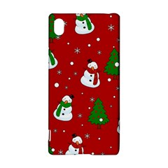 Snowman Pattern Sony Xperia Z3+ by Valentinaart