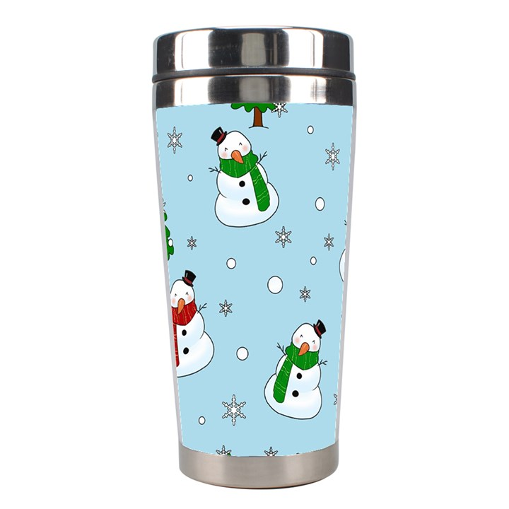 Snowman pattern Stainless Steel Travel Tumblers