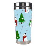 Snowman pattern Stainless Steel Travel Tumblers Right